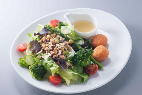 17種類の雑穀・豆・野菜のサラダ